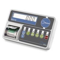 LCD-Anzeige-Wägeindikator / Benchtop / IP54 / mit integriertem Drucker