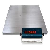 Plattformwaage / mit LED-Anzeige / Edelstahl / IP65