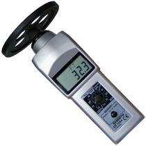 Kontakt-Tachometer / Hand / digital / mit LCD-Display