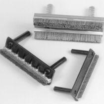Leistenbürste / Hon / Metall / für Werkzeug