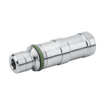 Einsatz für versenkte Installierung / aus vernickeltem Messing / gerundet / pneumatisch