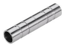 Zylinderförmiger Stopfen / außen / Edelstahl / für Pneumatiktransport
