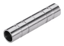 Zylinderförmiger Stopfen / innenliegend / Edelstahl / für Pneumatiktransport