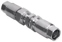 Push-to-Lock-Anschluss / gerade / hydraulisch / pneumatisch
