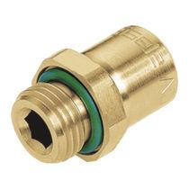 Schraubanschluss / gerade / hydraulisch / O-Ring