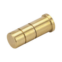 Zylinderförmiger Stopfen / innenliegend / Messing