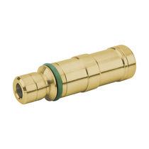 Einsatz für versenkte Installierung / Messing / gerundet / pneumatisch