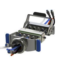Steckverbinder für Industrieanwendungen / Hybrid / kombiniert / DIN