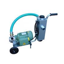 Impeller-Pumpenaggregat / für Seen / mit Steinabscheider