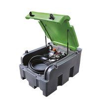 Polyethylentank / tragbar / Lager und für Diesel / horizontal