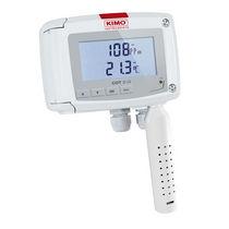 Temperatur- und CO2- Transmitter / für Wandmontage / 4-20 mA / mit LCD-Display / IP65