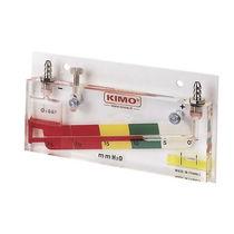 Flüssigkeitssäule-Manometer / analog / für Gas