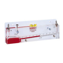 Analoges Manometer / Flüssigkeitssäule / Prozess / Niederdruck