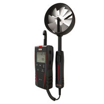 Flügelrad-Thermoanemometer / tragbar / digital / batteriebetrieben