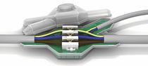 Isolierter Kabelgarnitur / wasserdicht / Kunststoff / für Schwachstromkabel