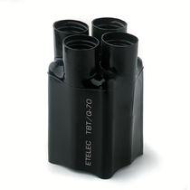 Wärmeschrumpfbare Kappe / Press-Fit / rund / aus Polyolefin