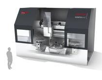 CNC-Drehmaschine / vertikal / 3-Achsen / hart