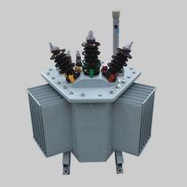 Verteilungstransformator / getaucht / AC / verlustarm