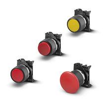 Drucktaster mit Pilzkopfzapfen / Unterputz