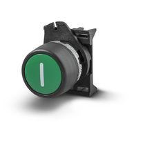 Unterputz-Drucktaster / Verriegelung / Momentaktion / IP65