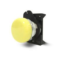 Drucktaster mit Pilzkopfzapfen / Leuchtmelder