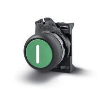 Momentaktions-Drucktaster / Steuer / Unterputz / Verriegelung