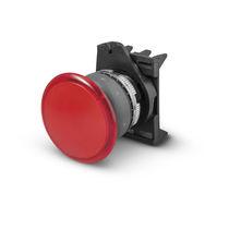 Drucktaster mit Pilzkopfzapfen / IP65