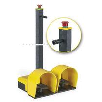 Steuerungs-Fußschalter / elektrisch / 2 Pedale / mit Not-Aus