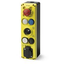 Schaltergehäuse / 6 tasten / IP54 / für Aufzug
