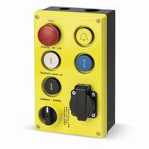 Schaltergehäuse / 6 tasten / IP65 / für Aufzug