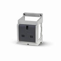 Steckdose für Industrieanwendungen / wandmontiert