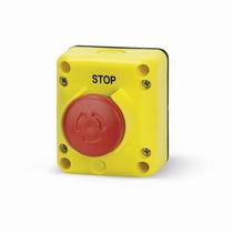 Schaltergehäuse / einer Taste / IP65 / für Aufzug / Not-Halt