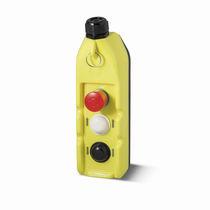 Schaltergehäuse / 3 Tasten / IP65 / Kunststoff / für Industrieanwendungen