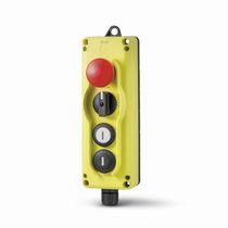 Schaltergehäuse / 4 Tasten / IP65 / Kunststoff / für Industrieanwendungen