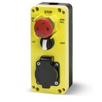 Pilzdrucktaster / elektromechanisch / Not-Halt / IP54