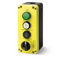 Schaltergehäuse / 3 Tasten / IP65 / für Aufzug