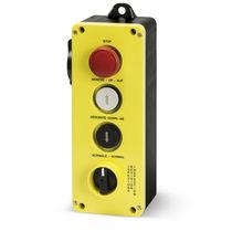 Schaltergehäuse / 4 Tasten / IP65 / mit Drehentriegelung / für Aufzug