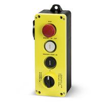 Schaltergehäuse / 4 Tasten / IP65 / für Aufzug