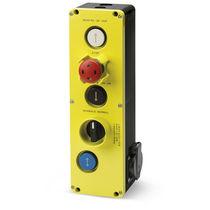 Schaltergehäuse / 5 Tasten / IP65 / für Aufzug