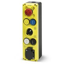 Schaltergehäuse / 6 tasten / IP54 / Push-Pull