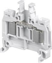Reihenklemme auf DIN-Schiene / Sicherung / IDC