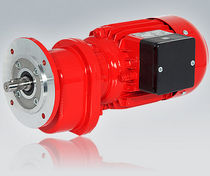 Asynchron-Elektrogetriebemotor / 3-Phasen / einphasig / Koaxial