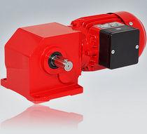 3-Phasen-Elektrogetriebemotor / einphasig / Winkelumlenkung / Schnecken
