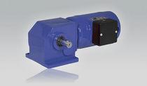 DC-Getriebemotor / Winkel / Schnecken / mit rechtsseitiger Verzahnung