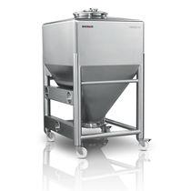 IBC-Behälter / Edelstahl / für Pharmaprodukt / für Pulver und Granulat / für Materialumschlag