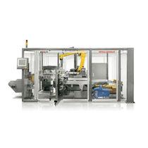 Vertikaler Kartonpacker Palettierer / automatisch / Karton / kompakt