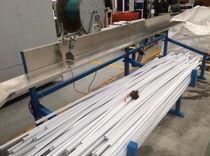 Extrusionsanlage für Kabelkanal / Profil / für PVC / Doppelschnecken