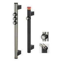 Funktionsgriff / Türen / mit Drucktaster / elektrischer Schaltfunktion