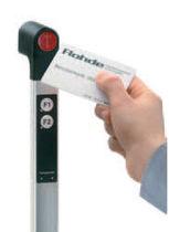 Funktionsgriff / Türen / Aluminium / Sicherheits-Transpondersystem