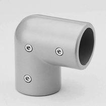 Winkel-Rohrverbinder / Stahl